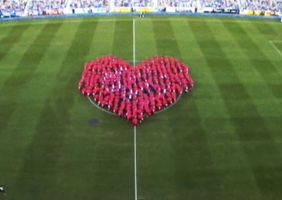 New Stadium RCD Espanyol. Opening Ceremony