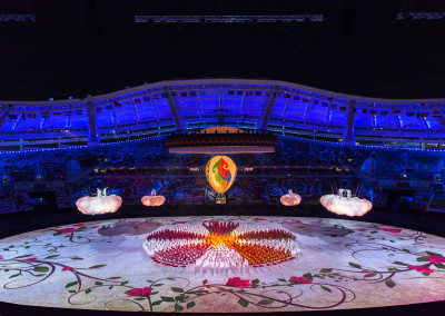Ceremonia de clausura Indoor Asian and Martial Games 2017