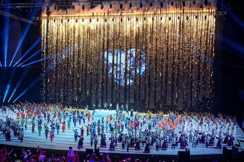 Ceremonia de Inaguración 30th Juegos Sudeste Asiático , Manila Filipinas 2019
